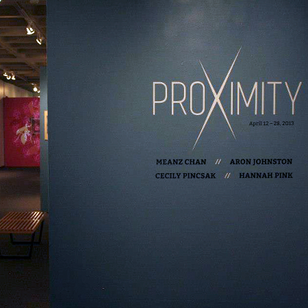 Proximity Senior Thesis Art Show