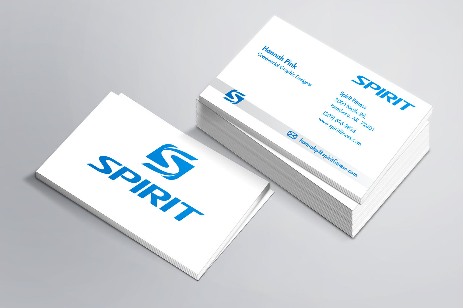 Spirit Commercial Business Cards