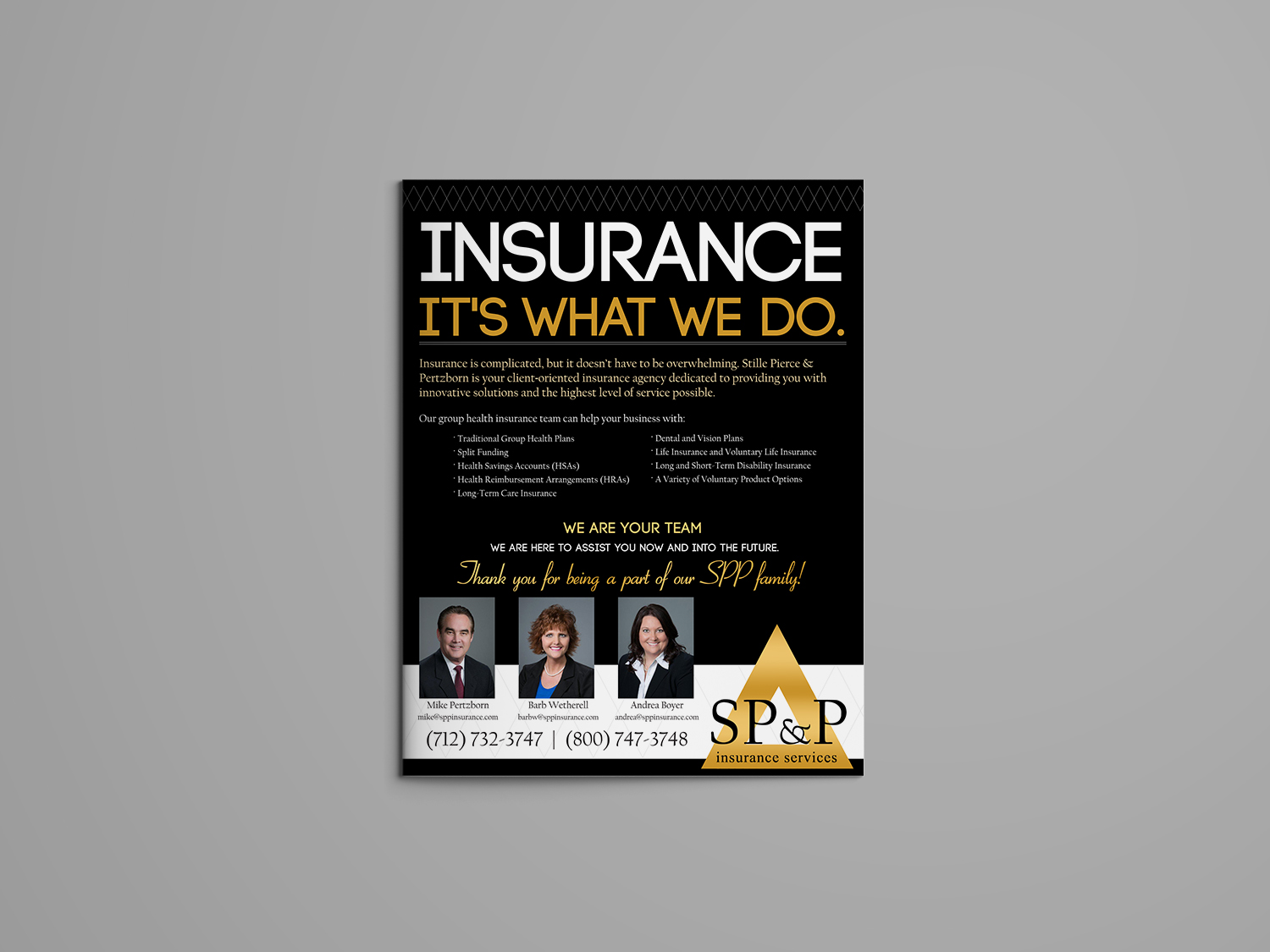 SPP Insurance: It's What We Do Flyer