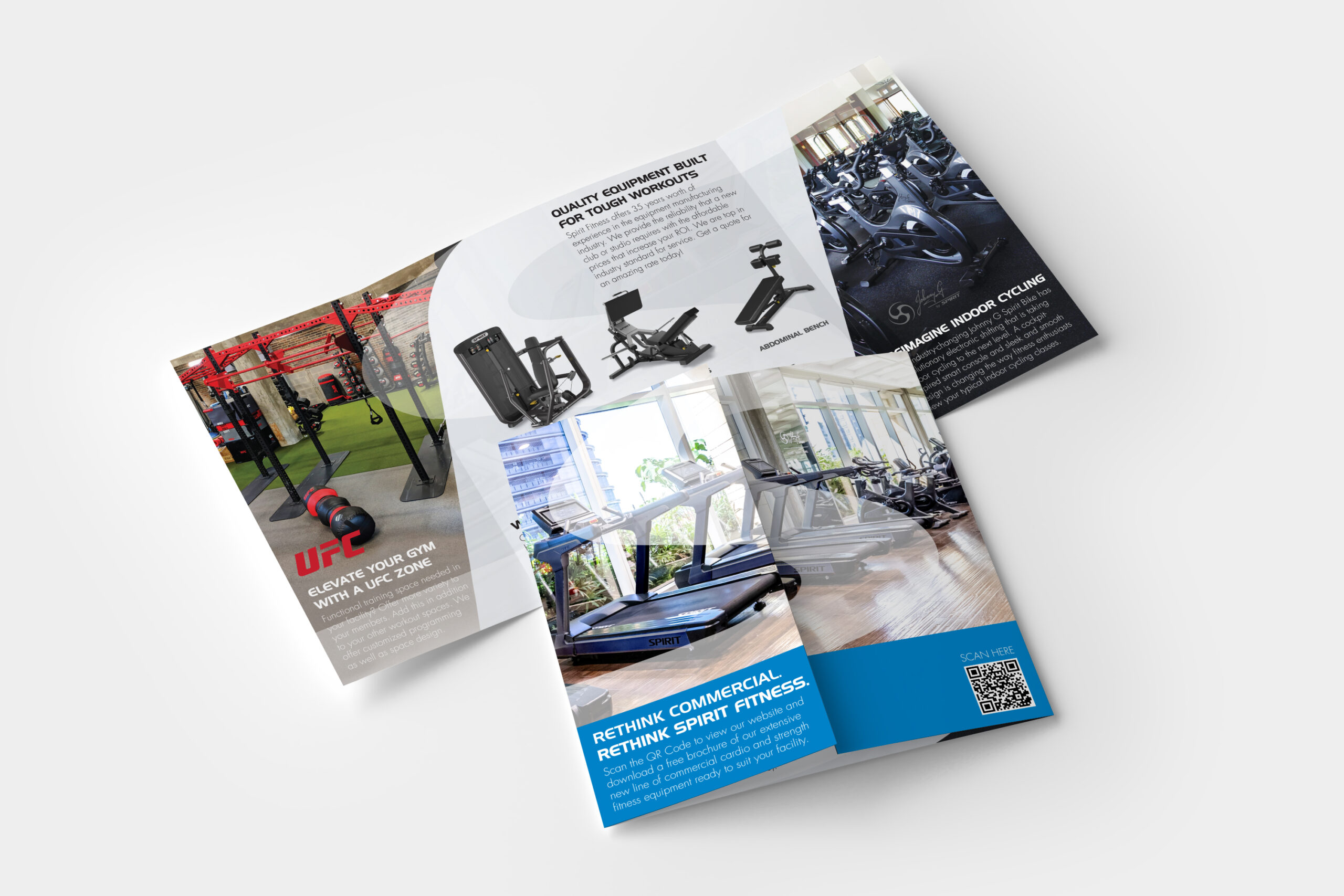 Spirit Commercial Gate Fold Brochure