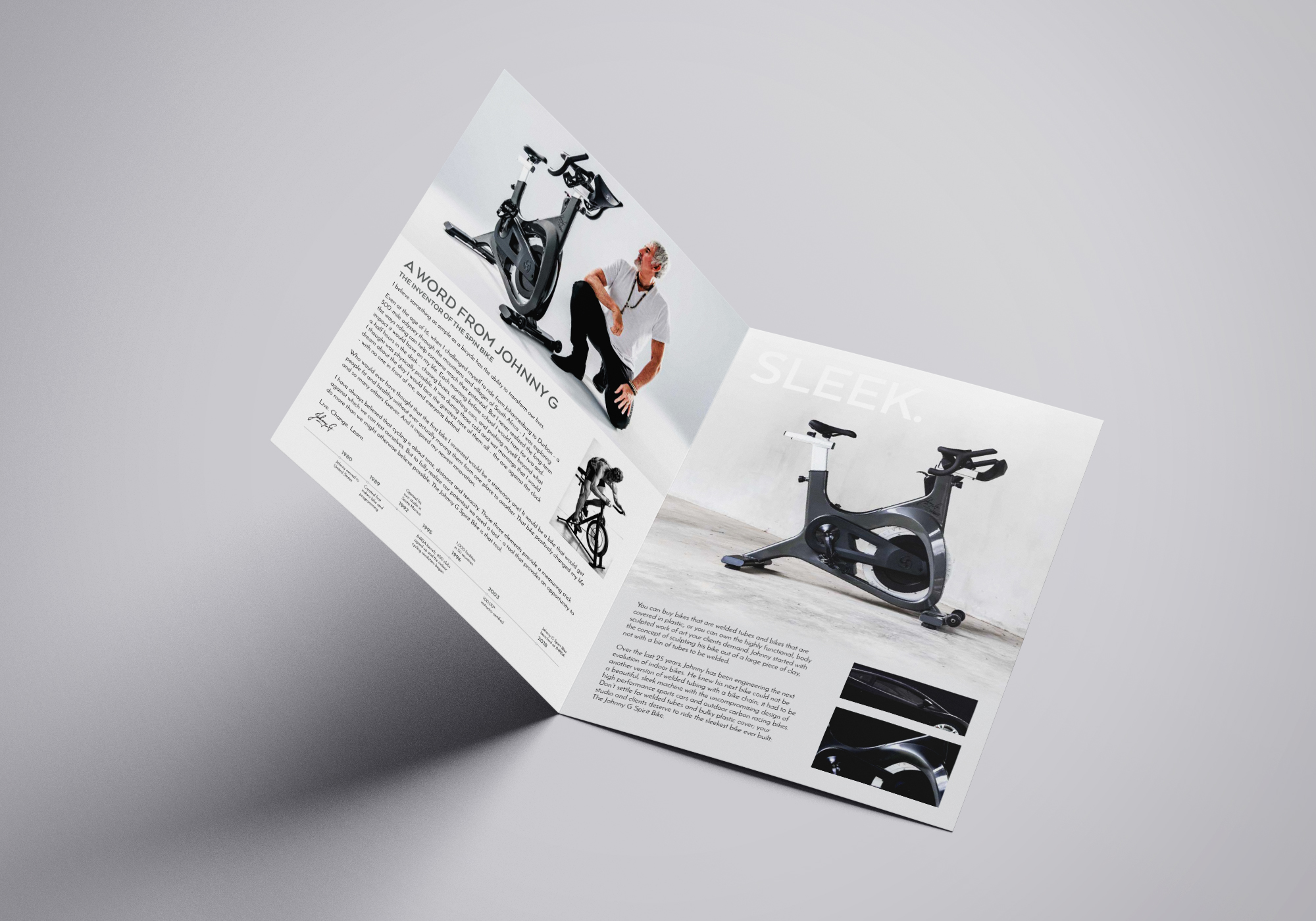 2020 Johnny G Spirit Bike Brochure – Inside Pages